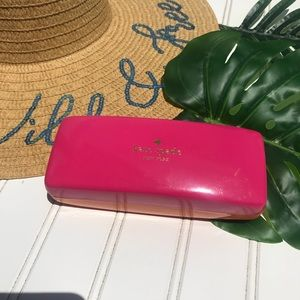 Kate Spade Eyeglasses Hard Case with Dust Cloth